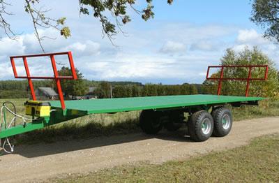 Agricultural Platform Flat Bed Semi- Trailer